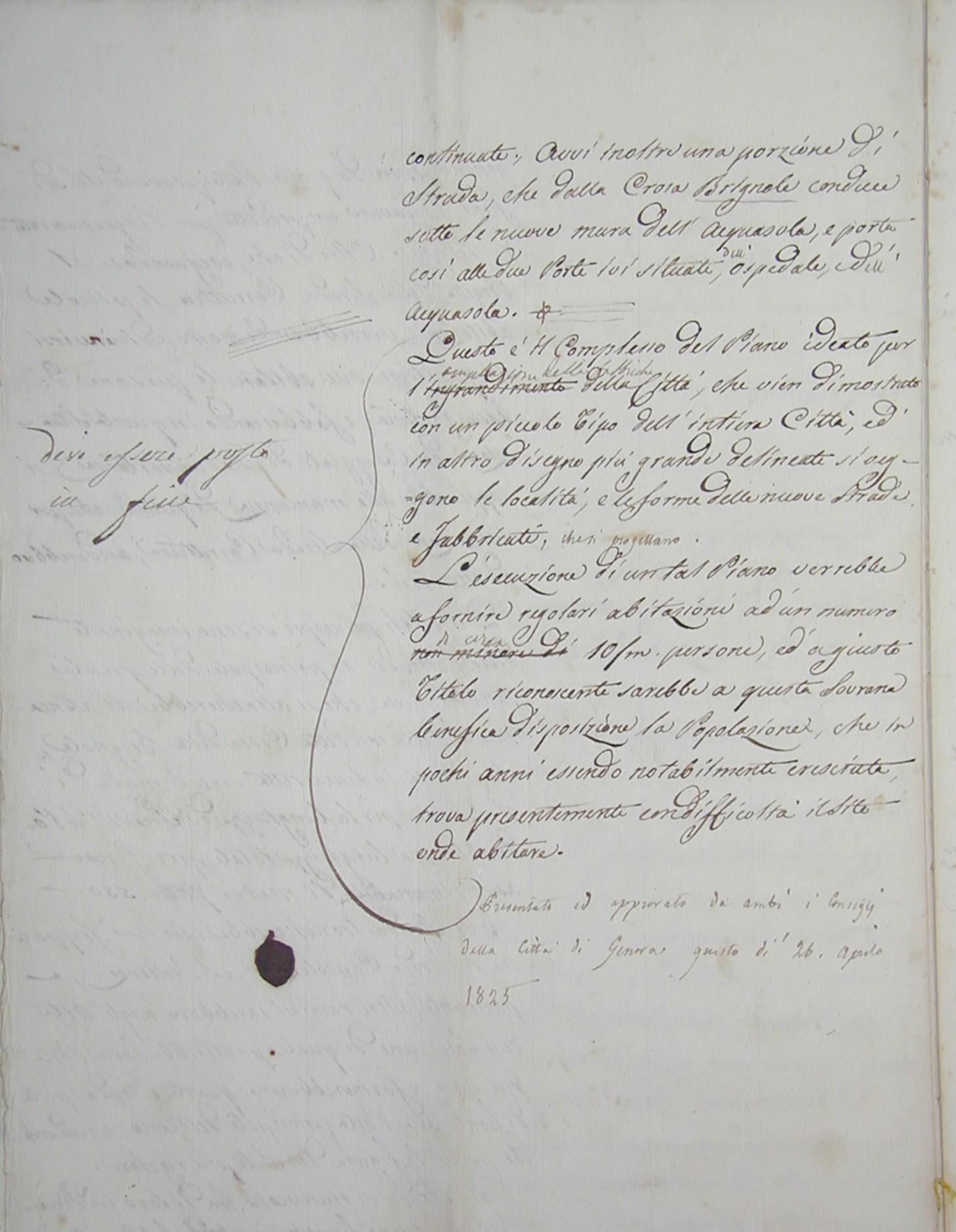 Carlo Barabino - 1825